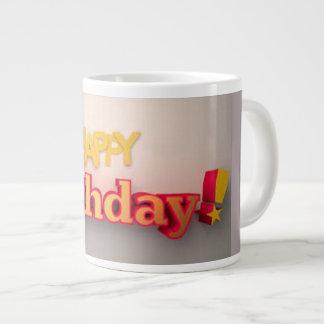 grattis på födelsedagenmugg jumbo mugg