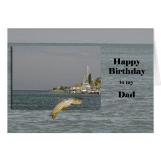 Grattis på födelsedagenpappa hälsningskort