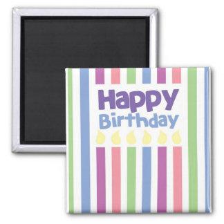 Grattis på födelsedagenstripeykort
