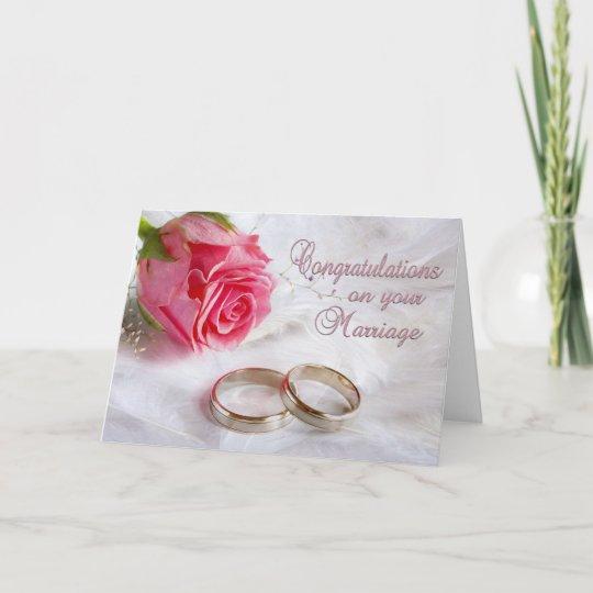 grattis till giftermålet Grattis som gifta sig giftermål kort | Zazzle.se grattis till giftermålet