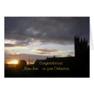 Grattisen på prästvigning skräddarsy tillfogar nam hälsnings kort