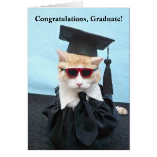 Grattisstudent! Hälsningskort