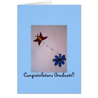 Grattisstudent!! Kort