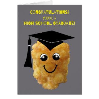 Gratulerar rolig studenten för Tater Tothögstadium Kort