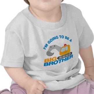 Grävarelastbil som går att vara en storebror tröja