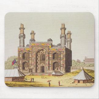 Graven av den Mughal kejsaren Akbar, från 'Le Cos Musmatta
