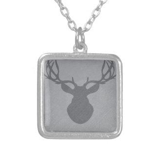 graydeer.png silverpläterat halsband