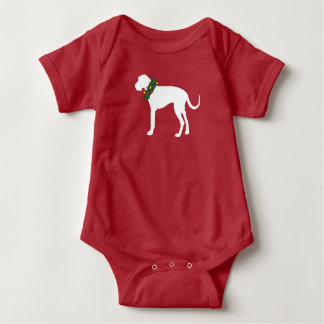Great dane med julbabybodysuiten tshirts