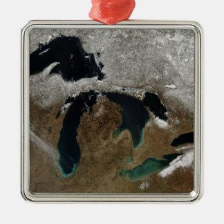 Greaten Lakes 3 Julgransprydnad Metall