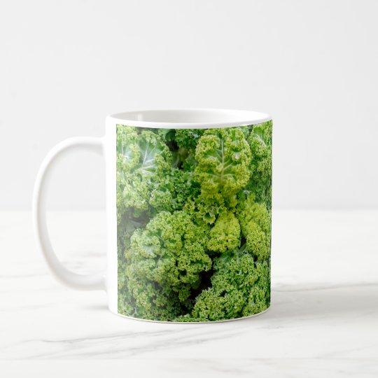 Green cabbage kaffemugg