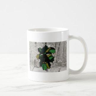 Greenman i vinter 1 kaffemugg