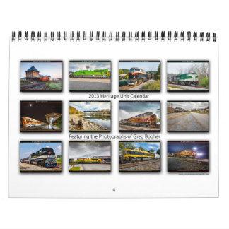 Greg Booher NS arvkalender 2013 Kalender