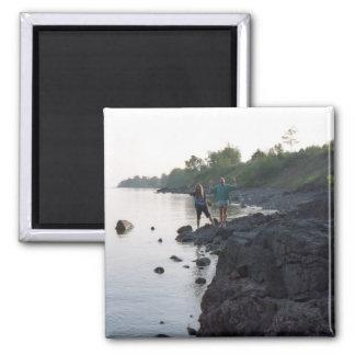 Greg & Dan Lake Superior Magnet