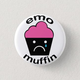 Greg den Emo muffinen Mini Knapp Rund 3.2 Cm