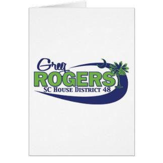 Greg Rogers för hus Hälsningskort