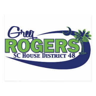 Greg Rogers för hus Vykort