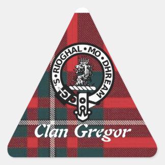 Gregor triangelklistermärkear triangelformat klistermärke
