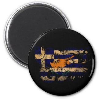 Grekisk Cypern flagga Magnet
