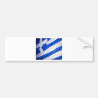 Grekisk flagga bildekal