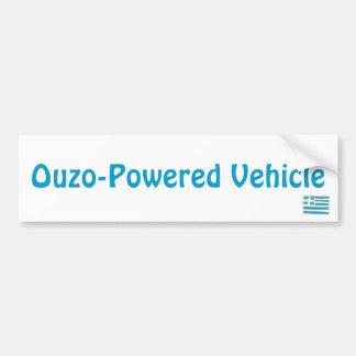Grekisk flagga, Ouzo-Drivit fordon Bildekal