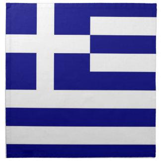 Grekisk flagga på den MoJo servetten Tygservett
