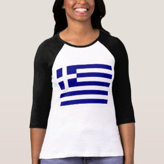 Grekisk flagga tshirts