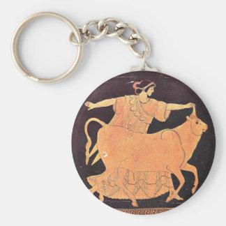 Grekisk gudinnaEuropa Rund Nyckelring