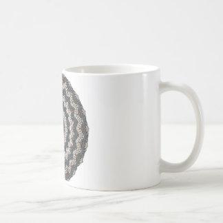 Grekisk konst för Pebblemosaikcontemporary Kaffemugg