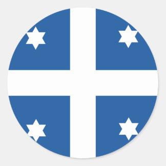 Grekisk marinamiral, Grekland flagga Runt Klistermärke