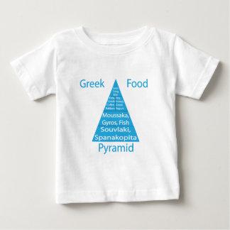 Grekisk matpyramid t shirt