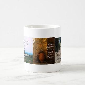 Grekisk Proverb om kärlek Kaffemugg