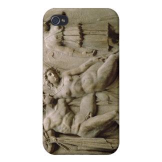 Grekisk sarkofag med en platsvisning Blen iPhone 4 Cover