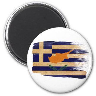 Grekiska Cypern flaggamagneter Magnet