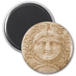 Grekiska den forntida gudHermes BILDEN avbildar av Magnet