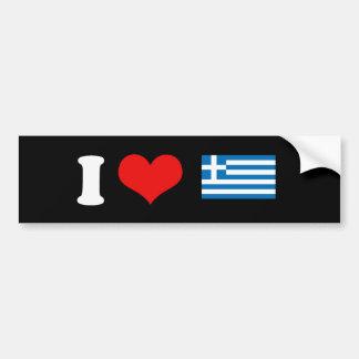 Grekiska flaggaT-tröja och gåvor Bildekal