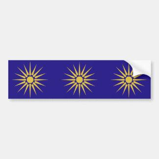 Grekiska Makedonien, Grekland flagga Bildekal