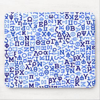 Grekiskt alfabet musmatta