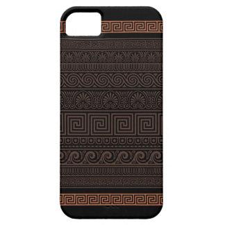 Grekiskt dekorativt mönster iPhone 5 Case-Mate skal