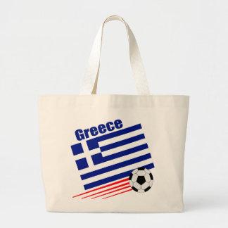 Grekiskt fotbolllag jumbo tygkasse