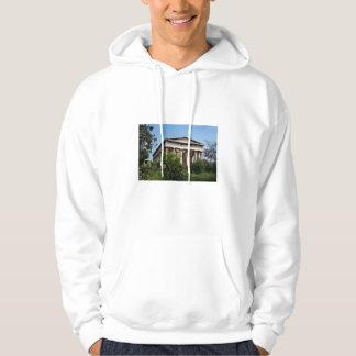 Grekiskt tempel: Anpassade Sweatshirt Med Luva
