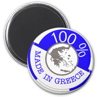 GREKLAND 100% VAPENSKÖLD MAGNET
