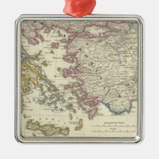 Grekland Asien minderårig Julgransprydnad Metall