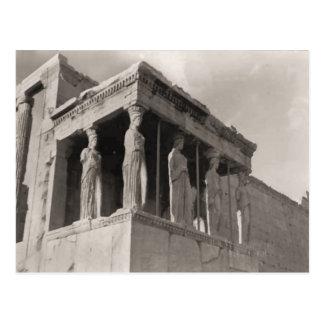 Grekland Athens, Acropolis, Parthenon Vykort