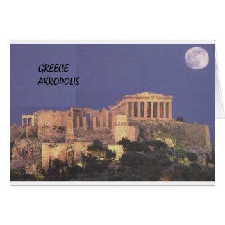 Grekland Athens Akropolis Parthenon (St.K) Hälsningskort