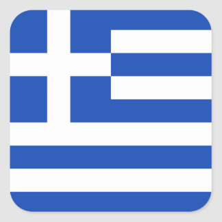 Grekland flaggaklistermärke