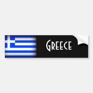 Grekland flaggamörk bildekal