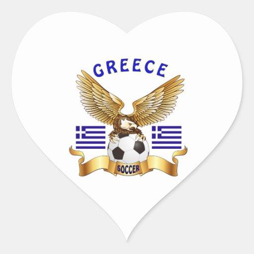 Grekland fotbolldesigner klistermärke