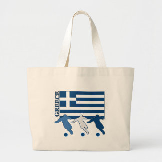 Grekland - fotbollspelare jumbo tygkasse