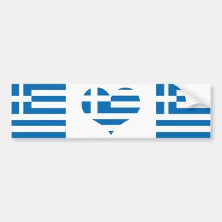 Grekland grekisk flagga bildekal