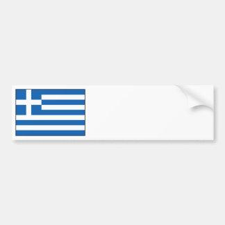 Grekland - grekisk flagga bildekal
